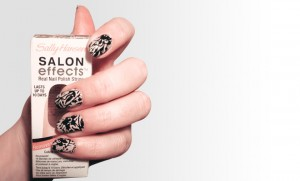 SallyHansen's Salon Effect Nails Day 2 Update